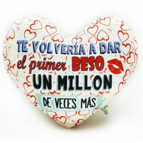 PRIMER BESO CORAZON LYCRA MD.