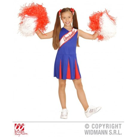 CHEERLEADER AZUL/ROJO 11-13