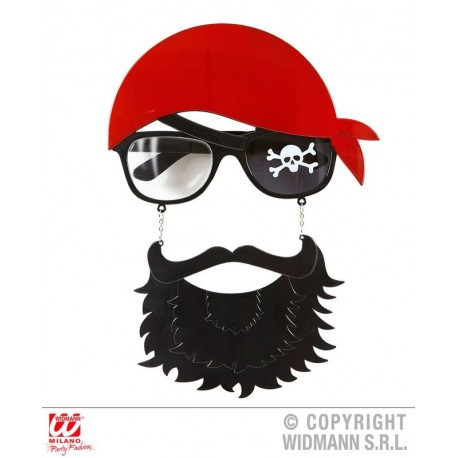 GAFAS PIRATA CON BARBA