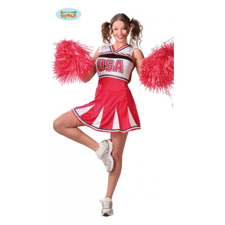CHEERLEADER ADULTA TALLA S 36-38 S