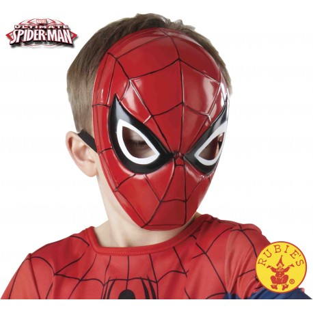 MASCARA SPIDERMAN MEDIA INFANTIL