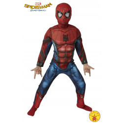 DISFRAZ SPIDERMAN HC DELUXE INF UK 5-6