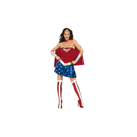 DISFRAZ WONDER WOMAN AD USA S