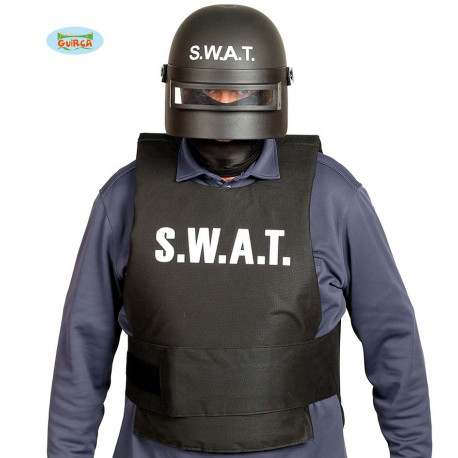 "CASCO ""SWAT"" ANTIDISTURBIOS ADULTO"