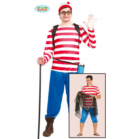 DISFRAZ WALLY/MARINERO ADULTO TALLA M 48-50 M