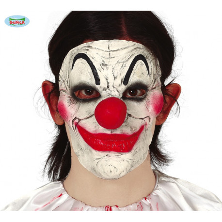 MEDIA MASCARA PAYASO LATEX