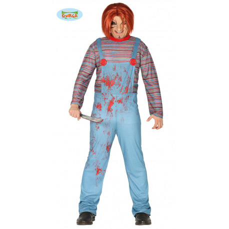 Disfraz KILLER DOLL ADULTO TALLA M 48 50 M