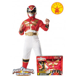 DISFRAZ POWER RANGER MEGAFORCE MUSCULOSO EN CAJA S