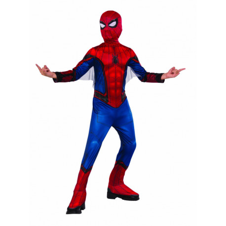 DISFRAZ SPIDERMAN FFH RED BLUE INF S