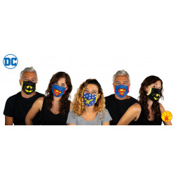 mascarilla DC COMICS ADULTO