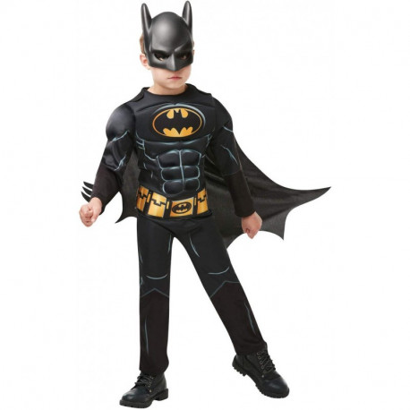 DISFRAZ BATMAN black core deluxe inf 5-6